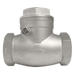 Stainless Steel Cast Iron Check Valve, Packaging Type: Box