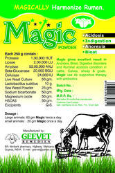Live Yeast Enzyme Probiotics Powder For Rumen