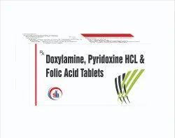 Doxylamine, Pyridoxine HCL & Folic Acid Tablets