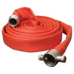 Red Fire Hose Pipe