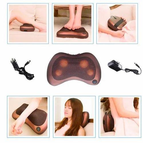 Image result for Multifunctional Massage Pillow Neck Leg Shoulder Vibration Massager