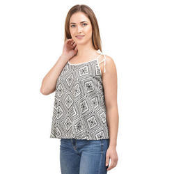 Ladies Surplus Printed Top