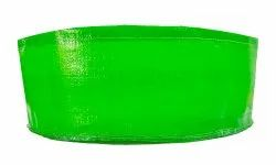 Green Round HDPE Grow Bags, For Gardening