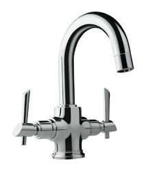 Centre Hole Basin Mixer/Sink Mixer High Neck