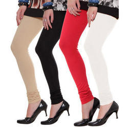 Multicolor Churidar Ladies Lycra Legging