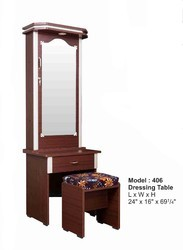 Standard Compressed Wood Dressing Table, Size/dimension: 24 X 16 X 69 Inch