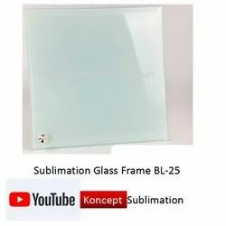 Sublimation Glass Frame BL 25