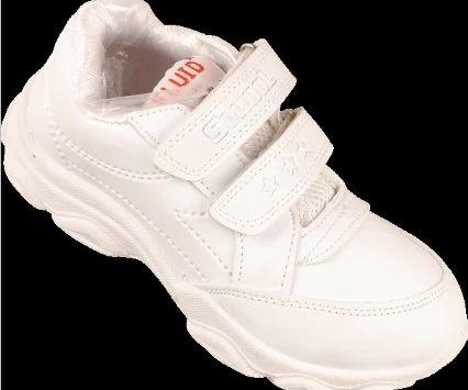 e16397b475 PVC Lace Up White Boys School Shoes, Rs 216 /pair, K N Enterprises ...