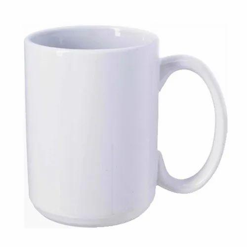 32ed3f4d58c Ceramic Sublimation White Mug 15oz, For Home, Rs 85 /piece | ID ...