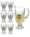 Crystal Glass Lemon Set