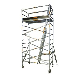 Wall Reclining Extension Ladders for Rental