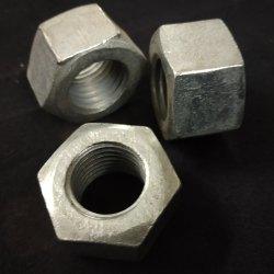 Industrial Galvanized Hex Nuts