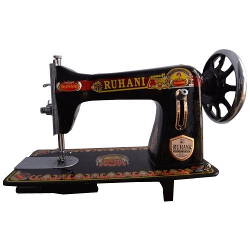Ruhani SemiAutomatic Black Domestic Sewing Machine Rs 40 Piece Unique 1920 Sewing Machine