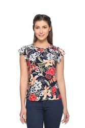 Women/Girls Floral Fancy Top