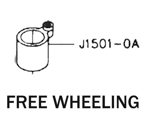 free wheeling j1501 0a for golden wheel industrial sewing machine cs rh indiamart com