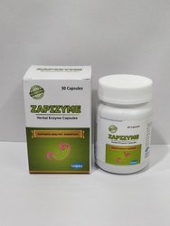 Zapizyme Herbal Enzyme Capsules, For Hospital,Clinical, Packaging Type: Box,Bottle