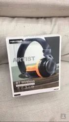 Wemake Over The Head Stereo Wireless Headphone, Model Name/Number: Artist, Packaging Type: Box