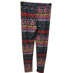 Cotton Casual Wear Ladies Designer Printed Legging