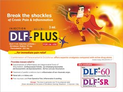 Diclofenac 75 mg & Paracetamol 225 mg per 3 ml