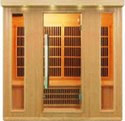 Commercial Far Infrared Sauna  - 4 Persons