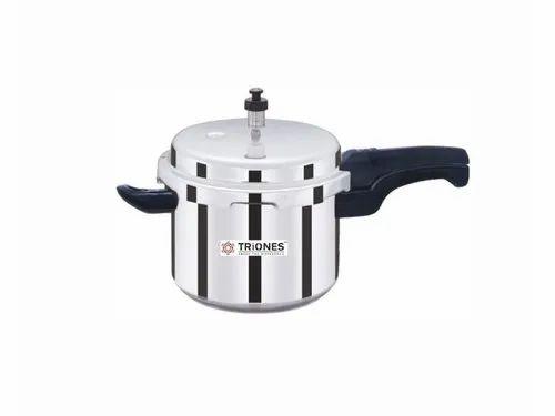 Triones Aluminum Pressure Cooker 5 Ltr