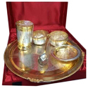 Bhojan Thal In Two Tone