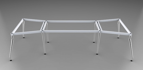 8 Legs Conference Table Frame