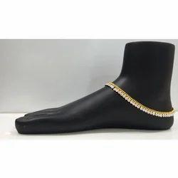 Radhe Payal Gold Designer Imitation Payal
