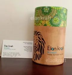 Round Paper Tube Box, For Packaging
