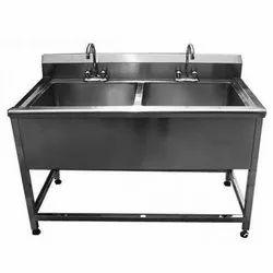 Square & Rectangular SS Hand Washing Sink