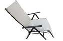 Folding Reclining Chair - Leg Frame - Beige
