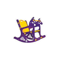 Purple And Yellow REDSTAR Baby Rocking Chair