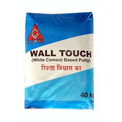 Lion Wall Touch Wall Putty, Packaging Type: Bopp Export Quality Bag, For Internal Floor