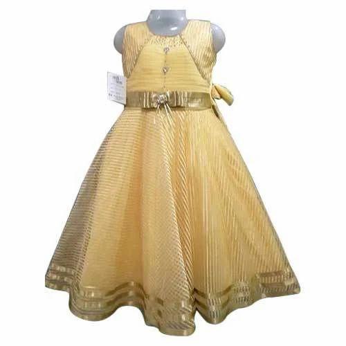 d89121da4eab Party Wear Kids Girls Long Frock, Rs 450 /piece, Nafisha Dresses ...