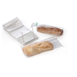 Wicketed Bread Poly Packaging