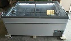 Commercial Island Display Freezer