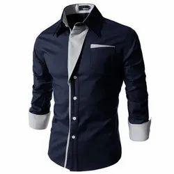 Cotton Plain Designer Men's Shirt