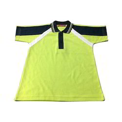 Yellow School Polo T Shirt
