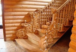 Designer Wooden Stair Balusters