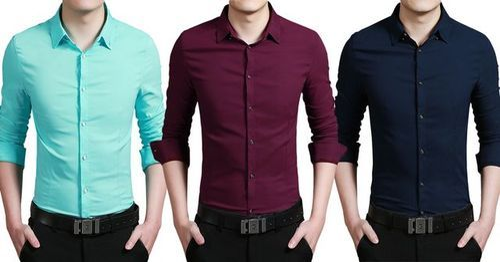 70cc8c36 Stripes Full Mens Cotton Shirts, Rs 400 /piece, Style Hub | ID ...
