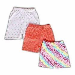 Unisex Mini Berry Cotton Baby Shorts