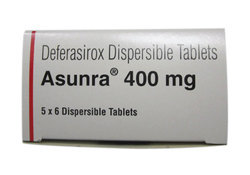 Deferasirox Dispersible Tablet 400mg