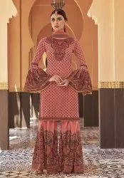 Pr Fashion Launched Trendy Designer Sharara Suit