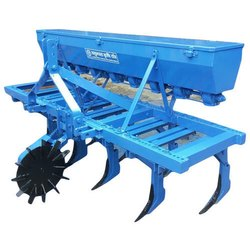 Kisan Kraft Blue Seed Drill Agriculture