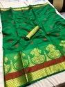 Cotton Silk Jacquard Saree Designs