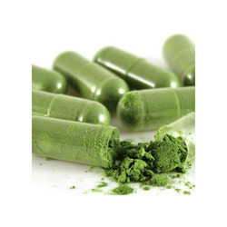 Wheat Grass Capsules, Grade Standard: Food Grade, Packaging Type: Bottel