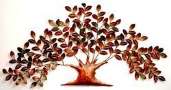 Multicolor THE D.N.A. GROUP Iron Painted Wall Decor Tree of Life, Size: 54 X 2 X 26 Inch