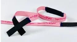 Velcro Fabric Wristbands