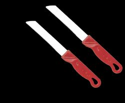 National Multicolor 2 Knife Combo Set for Kitchen