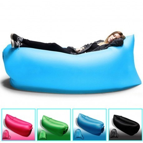 Inflatable Portable Hangout Lazy Air Bag Sofa Bed Suitable For Camping Travel Beach